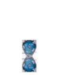 Blue Daisy Vase