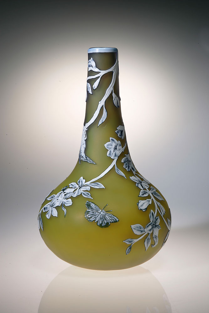 Blue Tit Vase