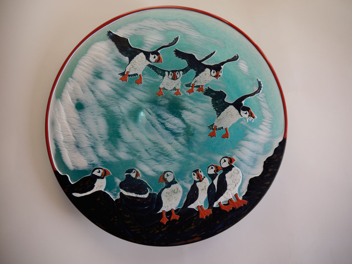 Puffin Plate