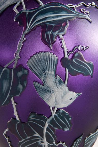 Shy Bird Vase